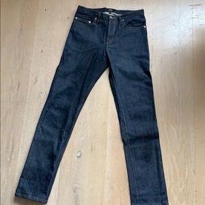 APC New Cure F raw denim size 25